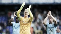 Hart congratulates new champions Chelsea in post-match interview