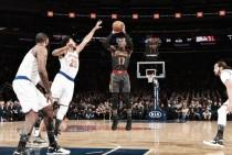 Em partida equilibrada, Hawks batem Knicks em Nova York