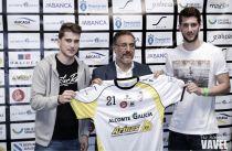 Llegadas y presentaciones en Santiago Futsal