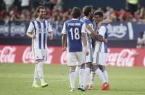 Osasuna-Real Sociedad: victoria txuri-urdin a base de errores