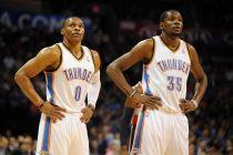 Kevin Durant y Russell Westbrook regresan a los entrenamientos