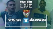 Resultado Palmeiras x São Bernardo pelo Campeonato Paulista (2-0)
