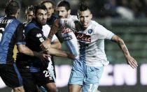Diretta partita Atalanta - Napoli, risultati live di Serie A