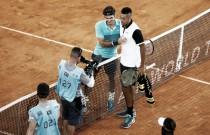 """Federer reprocha la actitud de Kyrgios:""""Debe mostrar más respeto por el circuito"""""""