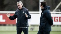 """Roy Hodgson: """"Estoy encantado con la competencia que hay en la selección"""""""
