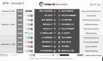 El RCD Espanyol abrirá la tercera jornada en Anoeta el viernes a las 20:45 horas.