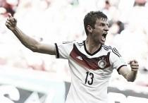 La estrella de Alemania: Thomas Müller, gol con carácter teutón