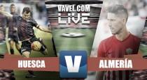 Huesca - Almería en directo online en Segunda División 2016 (0-0)