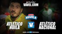 Atlético Huila vs Atlético Nacional: Los 'verdes' quieren estirar ventaja