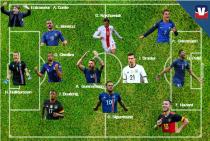Euro 2016:L'équipe type des huitièmes