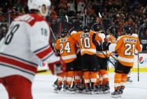 Philadelphia Flyers Beat Carolina Hurricanes, 3-2, On Shayne Gostisbehere's Overtime Game-Winner