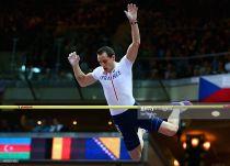 Lavillenie roza el récord y Maslak enciende Praga