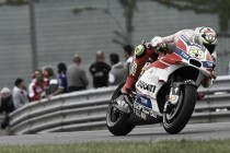 Iannone overcame many technical problems to finish fifth at the German GP