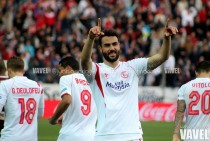Iborra cumple 100 partidos con el Sevilla