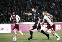 Les buts de FC Metz vs PSG