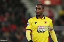 Watford ready to sell Odion Ighalo after interest from Shanghai Shenhua