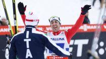 Falun 2015, Sprint a coppie: Pellegrino - Noeckler di bronzo, oro Norvegia. Al femminile si impongono Oestberg e Falla