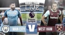 Resultado Manchester City vs West Ham en directo online en Premier League 2016
