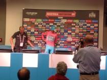"""Nibali: """"Estuve malo, pero no se podía contar, la etapa de descanso y el Agnello fueron clave"""""""