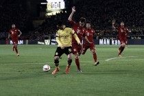 Dortmund y Bayern chocan en un recital táctico