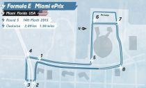Formula E :svelato il circuito del ePrix di Miami