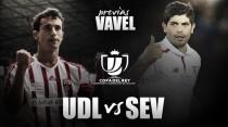 UD Logroñés - Sevilla FC: primera prueba copera