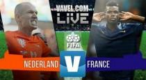 Francia gana sobre la campana a Holanda (2-3)