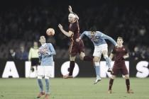 El Nápoles se estrella con la Roma