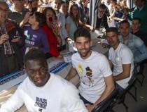 El Espanyol se une a la fiesta de Sant Jordi