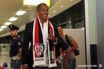 """Cagliari, Bruno Alves: """"Tantissimi tifosi ad accogliermi, sono felice"""""""