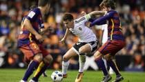 """Santi Mina: """"El objetivo era cambiar la imagen de la ida que no se correspondía con la del Valencia"""""""