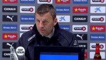"Djukic: ""Hemos merecido otra suerte pero no hubo recompensa"""