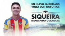 Siqueira llega cedido hasta el año 2017 al Valencia C.F.