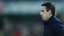 """Neville: """"Estamos completamente centrados en el partido del sábado"""""""