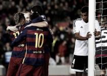 Humillación en Barcelona