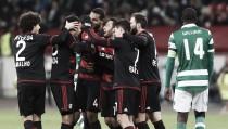 El Leverkusen sentencia al Sporting y se mete en octavos
