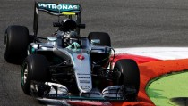 Italian GP: Rosberg fastest as Mercedes dominate FP1