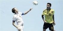 Colombia rescató un empate agónico ante Uzbekistán