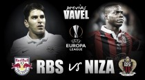 Previa Red Bull Salzburgo - Niza: duelo vital