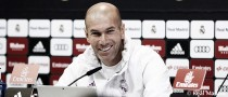 """Zidane: """"Con el apoyo de la afición ganamos seguro"""""""