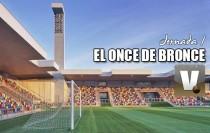 El Once de Bronce: Segunda División B, jornada I