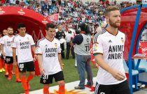 Los jugadores apoyaron a André Gomes