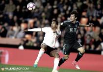 Veinte buenos minutos no bastan al Valencia CF ante la Real Sociedad