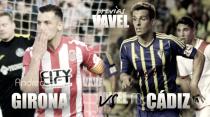 Previa Girona FC - Cádiz CF: Duelo de altura en Montilivi