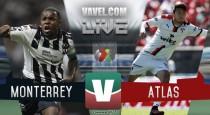 Resultado y goles del Monterrey 2-0 Atlas de la Liga MX 2017