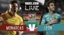 Monarcas Morelia vs León en vivo online en Liga MX (0-0)