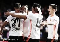 Victoria sufrida del Valencia ante el Espanyol