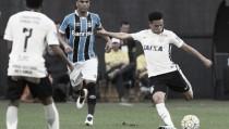 Com problema de hérnia, Marquinhos Gabriel vira desfalque no Corinthians por um mês