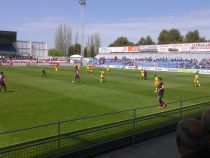 La SD Huesca golea y enamora ante Las Palmas Atlético