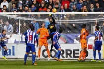 La UE Llagostera se disfraza de buen fútbol pero vuelve a perder